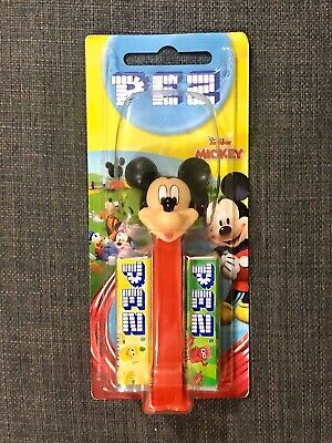 Disney Junior Mickey Mouse Clubhouse Pez Dispenser With 4 Sweet Refill Pack. • 5£