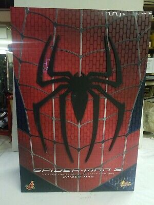 $449.99 • Buy Hot Toys Mms 1/6th Scale Spider-man 3 12 Inch Action Figure * New Open Box *