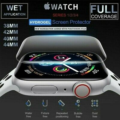 AU4.70 • Buy For Apple Watch Series 1/2/3/4/5 38/42mm 40/44mm IWatch Screen Protector