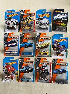 $20 • Buy Lot Of 12 Brand New HOT WHEELS & Matchbox VOLVO Fast Furious HONDA Art Car BMW