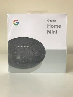 AU40 • Buy NEW Google Home Mini Smart Assistant And Speaker (Charcoal) Factory Sealed