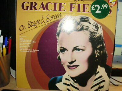 Gracie Fields On Stage And Screen 12inch Lp • 1.99£