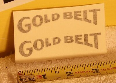 $10.47 • Buy Gold Belt Decal Stickers YZ CR RM KX Maico 125 250 360 400 Vintage Motocross VMX