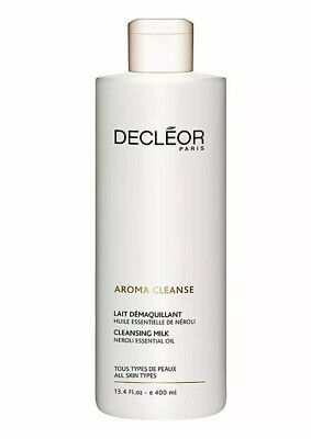 Decleor Aroma Cleanse Essential Cleansing Milk 400ml Repair Green Tea Almond Oil • 22.99£