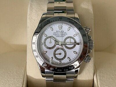 $ CDN32077.06 • Buy Authentic Rolex Stainless Steel Daytona 116520 V Serial Box And Papers