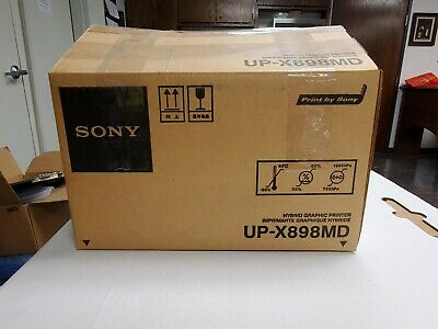 $595 • Buy Sony Video Printer UP-X898MD - Hybrid Graphic Digital/Analog Thermal Printing
