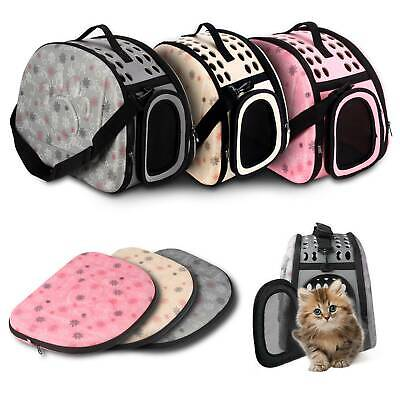 NEW Portable Travel Carrier Tote Cage Bag Crate Kennel Box Holder Pet Dog Cat • 14.19£