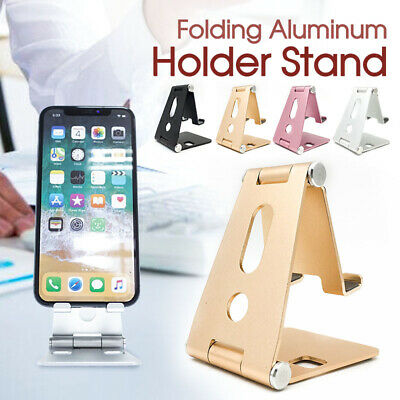 AU10.50 • Buy Universal Folding Aluminum New Tablet Mount Holder Stand For IPhone Samsung AU