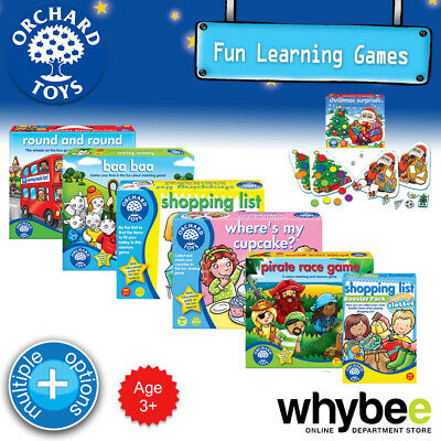 AU11.90 • Buy Orchard Toys 3yrs+ Fun Learning Games & Educational Puzzles For Kids Children