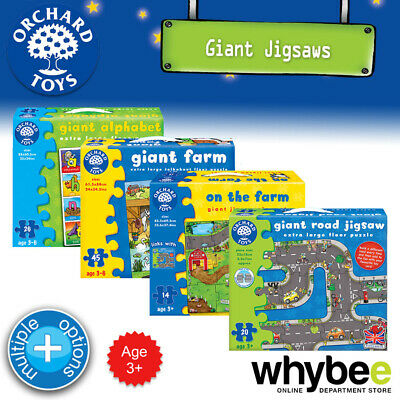 £12.70 • Buy Orchard Toys 3 Years+ Fun Educational Giant Floor Puzzles Jigsaw Kids Childrens