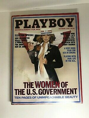 $ CDN4.22 • Buy Vtg Playboy November 1980 ~ Jeana Tomasino POTM / Washington DC Beauties