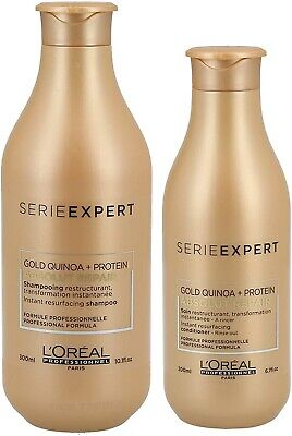 Loreal Professionnel  Serie Expert Absolut Repair Gold Shampoo 300ml And Conditi • 31.99£