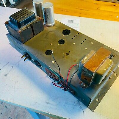 $ CDN118.67 • Buy Vintage Hammond AO-39 Original Amplifier 6bq5 Tube Amp Guitar Project