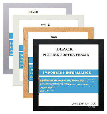 £2.99 • Buy A1 A2 A3 A4 A5 And Square Picture Photo Frames Various Sizes