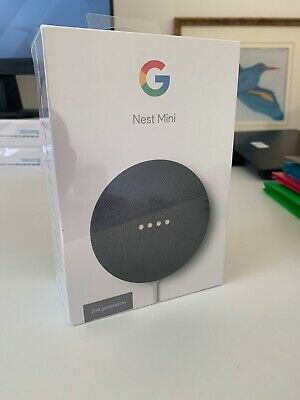AU30.01 • Buy Google Nest Mini (2nd Generation) Smart Speaker - Charcoal