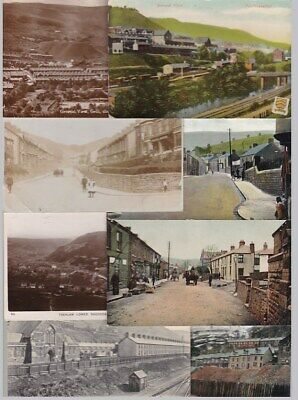 Glamorgan RHONDDA & Area Old Postcards - Sold And Priced Singly -see Description • 9£