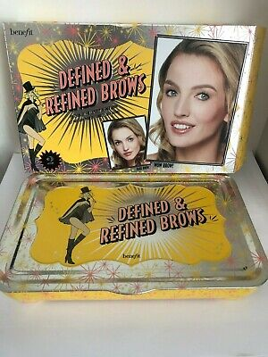 £31.48 • Buy NIB Benefit Cosmetics Defined And Refined Brows Kit Shade #2 Browvo Hi Brow