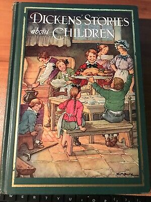 $10.99 • Buy Dickens' Stories About Children Charles Dickens John Winston Co 1929 Book