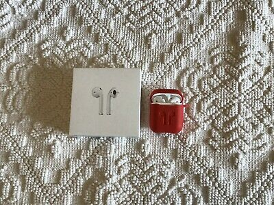 $ CDN71.92 • Buy Genuine Apple Airpods 2nd Generation With Wireless Charging Case MRXJ2AM/A