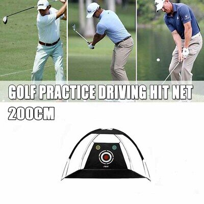 AU100.99 • Buy Foldable 2M Golf Training Cage Tent Practice Driving Chipping Hitting Net Aid