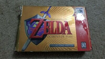 $51 • Buy The Legend Of Zelda Ocarina Of Time Collector's Edition Nintendo 64 N64