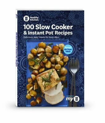 $46.99 • Buy Weight Watchers WW 100 Slow Cooker & Instant Pot Recipes & Bonus Air Fryer Ideas