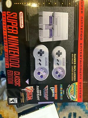 $ CDN95.90 • Buy Super Nintendo Entertainment System SNES Classic Edition