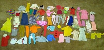 $ CDN56.57 • Buy Vintage Barbie Doll Clothing 50+ Pieces Lot 60s-90s Eras Some Tagged