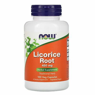 Licorice Root, 450 Mg, 100 Capsules - Now Foods • 9.49£