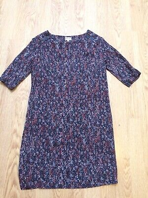 Lovely BRORA Shoulder Button Dress 12 Lined EUC • 21.99£
