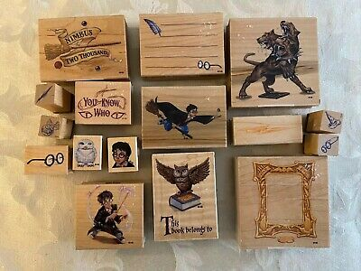 $19.99 • Buy Harry Potter Rubber Stamps Lot Of 16