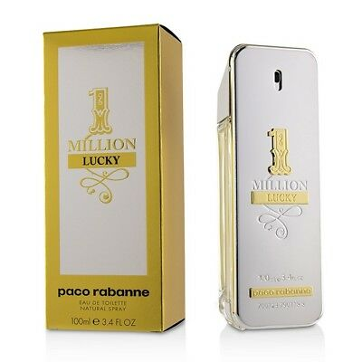 AU127.95 • Buy 1 Million Lucky By Paco Rabanne 100ml Edts Mens Fragrance