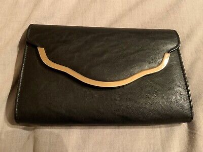 AU12 • Buy Forever New Clutch Bag Black And Gold
