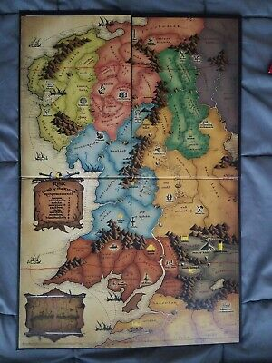 $9.95 • Buy Risk Lord Of The Rings Trilogy Edition LOTR Replacement Game Board ONLY 2003
