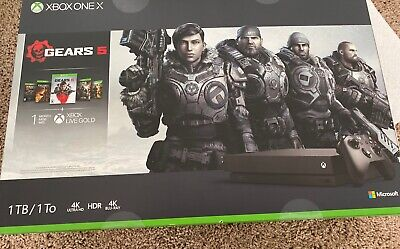 $400 • Buy Xbox One X 1 TB Gears 5 Bundle NEW