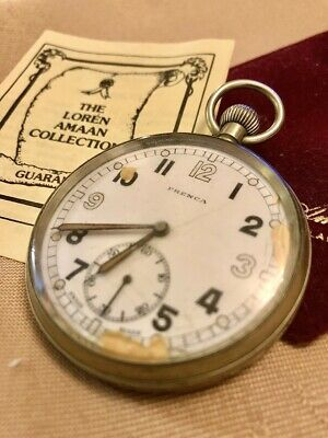 Vintage WWII Frenca Military Pocket Watch - Fully Working (Rare) CS/TP 059654 • 49.99£