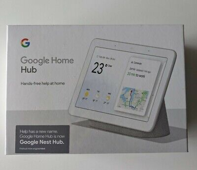 AU125 • Buy Google Nest Hub With Built-In Google Assistant, Chalk (GA00516-AU)