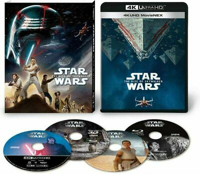 AU115.89 • Buy Star Wars The Rise Of Skywalker 4K ULTRA HD+3D+2D Blu-ray VWES-6997 JAPAN IMPORT