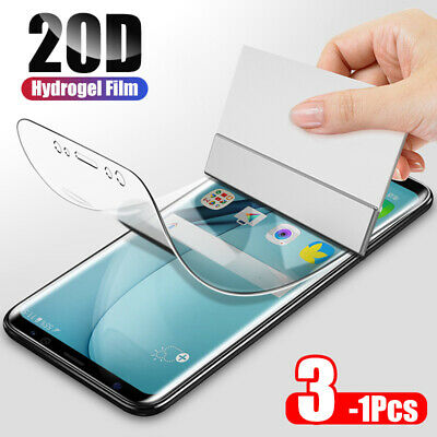 AU6.95 • Buy HYDROGEL Screen Protector For Samsung Galaxy S20 Ultra S10 5G S9 S8 Plus Note 9