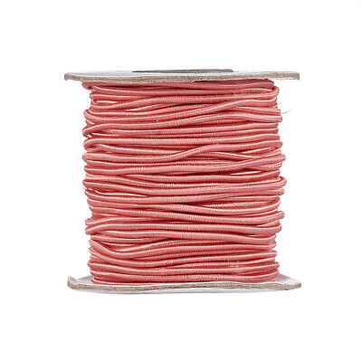$ CDN14.74 • Buy 40m/Roll Round Elastic Cord Nylon Jewelry Thread Jewelry String Craft Cords 2mm