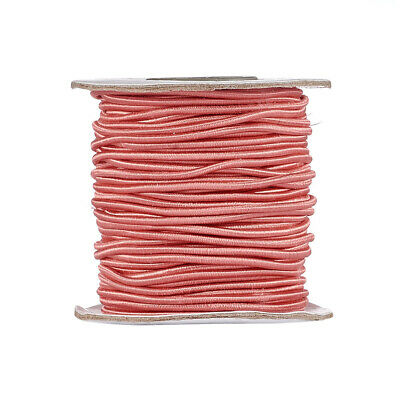 $ CDN14.01 • Buy 40m/Roll Round Elastic Cord Nylon Jewelry Thread Jewelry String Craft Cords 2mm