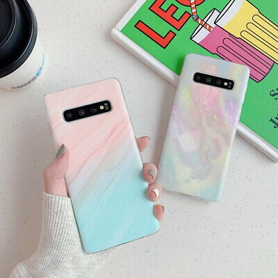 $ CDN4.25 • Buy Matte Marble Soft Phone Case For Samsung Galaxy S20 Ultra S10 Plus S9 S8 A71 A51
