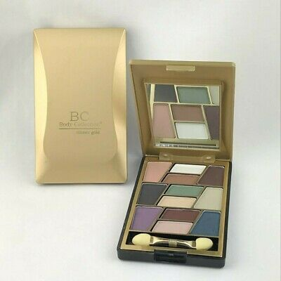 Body Collection 12 Colour Eyeshadow Compact Set Palette - Pastel Creams Nudes • 4.99£