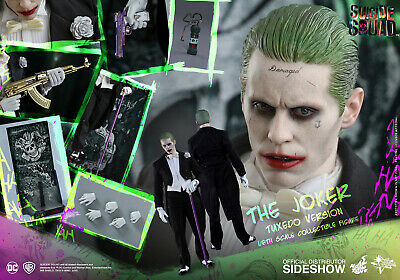 $301.49 • Buy HOT TOYS DC SUICIDE SQUAD JOKER TUXEDO VERSION 1:6 FIGURE ~Sealed In Brown Box~