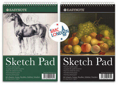 A5 Sketch Pad Book White Paper Artist Sketching Drawing Art Craft UK • 3.99£