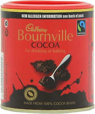 Cadbury Bournville Cocoa Powder 125g –Pack Of 1, 2, 6 Or 12–Baking, Hot Drinking • 10.12£