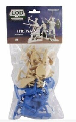 $26.99 • Buy LOD Enterprises 54mm 1/32 War Of Troy Ancient Greek Plastic Figures Set NEW!