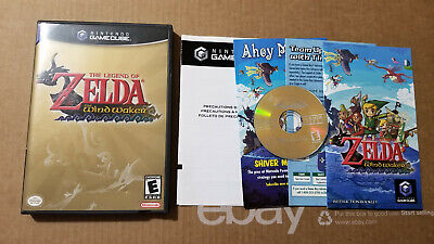 $55 • Buy Legend Of Zelda: The Wind Waker Complete CIB GameCube Game Cube