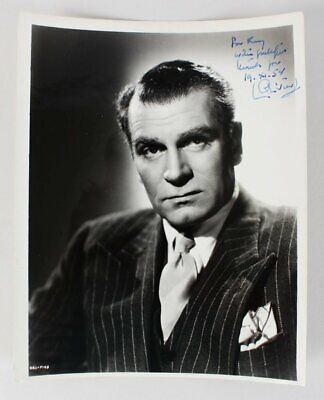 Laurence Olivier Signed Photo – COA JSA • 71.08£
