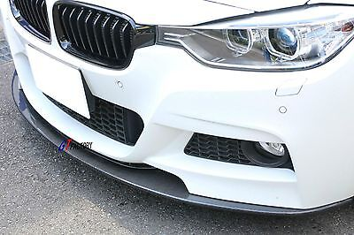 AU474.64 • Buy Carbon Front Lip Spoiler Ap Style For Bmw F30 F31 3 Series M Tech M Sports Only